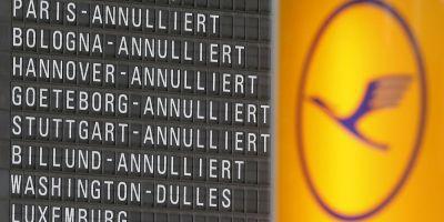 Lufthansa a anulat 218 zboruri din cauza unei greve a pilotilor