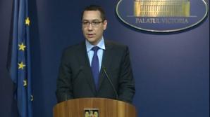 Ponta: Bugetul pentru politici regionale, cat bugetul Romaniei pentru urmatorii sapte ani