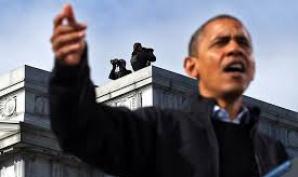 HALUCINANT! Un barbat inarmat a intrat in lift cu Barack Obama