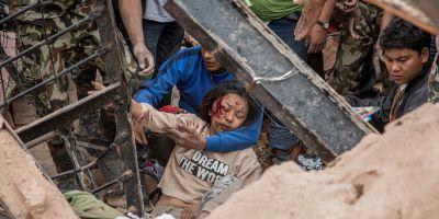 INFOGRAFIE Cutremur in Nepal: autoritatile se asteapta la 10.000 de morti