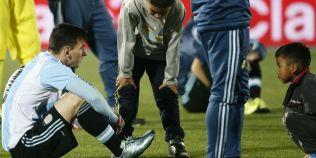 Inocenta copilariei, Messi si un episod demn de filme: presa din America de Sud a prezentat povestea unei poze superbe