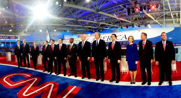 FEMEIA-LUP SINGURATIC printre 10 candidati barbati. Dezbatere politica de exceptie in SUA