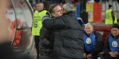 FOTO Cupa Romaniei: Dinamo - Steaua 0-0! Rednic si Reghecampf au dat-o la pace