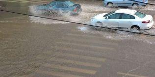 Dobrogea, sub Cod galben de ploi si grindina