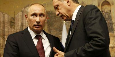 Erdogan i-a prezentat scuze lui Putin pentru doborarea avionului militar rus