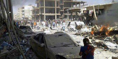 VIDEO Cel putin 44 de morti si 140 de raniti intr-un atentat comis de Statul Islamic in Siria