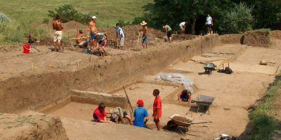 Viata intr-o rezervatie arheologica: