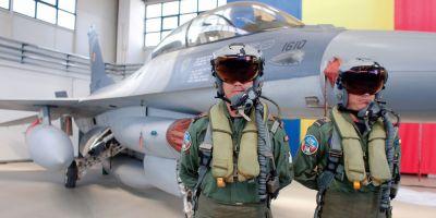 EXCLUSIV Primii piloti romani care zboara pe F16 povestesc cum se vede lumea de la bordul faimoaselor avioane