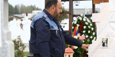 Lantul slabiciunilor care a dus la moartea lui Bogdan Gigina. Politistii si-au comemorat colegul care a murit pentru ca Oprea sa ajunga repede acasa