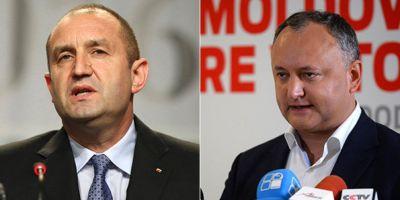The Economist: Noii presedinti ai Bulgariei si Moldovei sunt mai putin prorusi decat li se face reclama