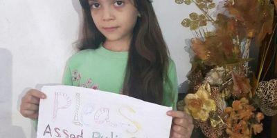 Locuinta fetitei din Alep care le-a cerut lui Assad si Putin sa inceteze bombardamentele fost distrusa