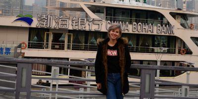 Aventura unei studente din Alba in China, in orasul cu populatie mai mare decat Romania