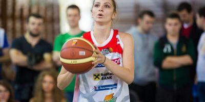FOTO Frumoasa baschetbalista din nationala Romaniei cu studii superioare in Finante-Banci: