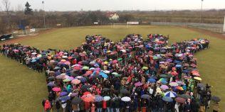 FOTO Mana umana cu mii de persoane. Se doreste intararea in Cartea Recordurilor