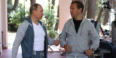 In ciuda investigatiilor aparute in presa, Vladimir Putin si Dimitri Medvedev sunt modesti, potrivit declaratiilor de avere publicate