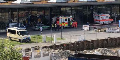 Incident armat la Munchen. O politista a fost grav ranita. Autoritatile afirma ca nu este vorba despre un act terorist