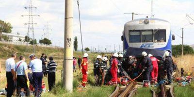 Un barbat s-a aruncat in fata trenului dupa ce s-a certat cu sotia. N-a suportat ideea ca nevasta va divorta