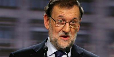 Premierul spaniol Mariano Rajoy anunta ca vrea suspendarea guvernului catalan si organizarea de alegeri regionale anticipate in Catalonia