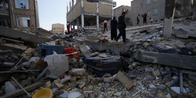 Autoritatile din Iran au pus capat operatiunilor de salvare dupa cutremur. Bilantul victimelor s-a ridicat la 530 de morti si peste 8.000 de raniti