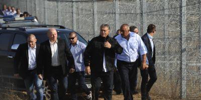 Premierul Ungariei, Viktor Orban, in inspectie la frontiera bulgaro-turca