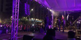 Concert de Revelion sabotat de o pana de curent. Mii de oameni si un artist au ramas in bezna 20 de minute