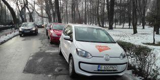 STUDIU Serviciile de car sharing ar reduce cu 25% traficul din Bucuresti si din orasele mari