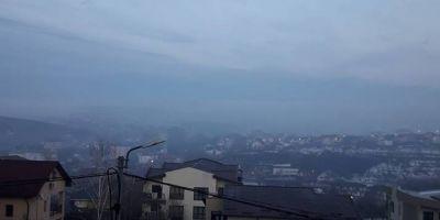 Limita de poluare a aerului in Iasi, depasita de 13 ori, miercuri seara. Urmeaza o saptamana critica pentru oras